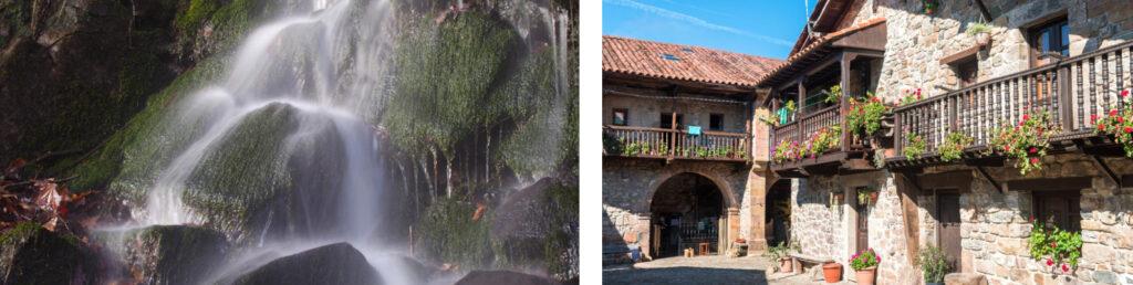Casa de piedra Bárcena Maroy y parque natural Saja-Besaya